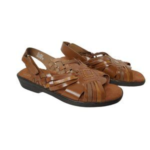 Womens Dr. Scholls Leather Strappy Sandals. Size 9